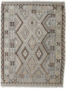 Kilim Afghan Old Style Rug 149X197 Authentic  Oriental Handwoven Light Grey/Dark Brown (Wool, Afghanistan)
