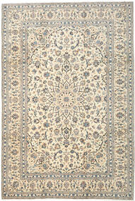 Keshan Rug 260X353 Authentic  Oriental Handknotted Light Grey/Beige Large (Wool, Persia/Iran)