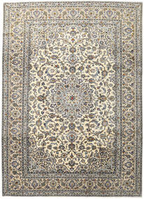 Keshan Rug 248X345 Authentic  Oriental Handknotted Light Grey/Dark Grey/Beige (Wool, Persia/Iran)