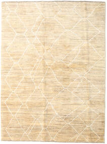 Loribaft Persia Rug 177X236 Authentic  Modern Handknotted Beige (Wool, Persia/Iran)