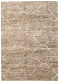 Loribaft Persia Rug 175X241 Authentic  Modern Handknotted Light Grey/Light Brown (Wool, Persia/Iran)