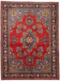 Wiss Rug 165X225 Authentic  Oriental Handknotted Dark Purple/Dark Red (Wool, Persia/Iran)