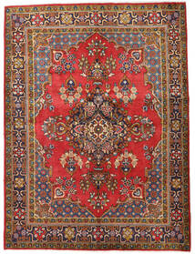 Wiss Rug 155X210 Authentic  Oriental Handknotted Dark Brown/Rust Red (Wool, Persia/Iran)