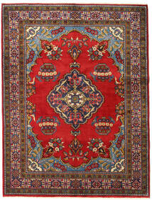 Wiss Rug 160X210 Authentic  Oriental Handknotted Dark Brown/Rust Red (Wool, Persia/Iran)