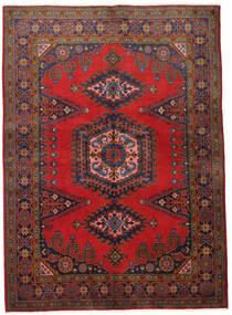 Wiss Tapis 155X215 D'orient Fait Main Rouge Foncé/Marron Foncé (Laine, Perse/Iran)