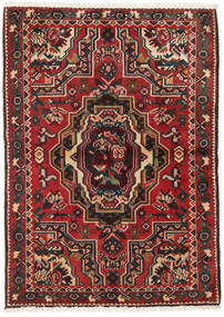 Bakhtiari Rug 103X145 Authentic  Oriental Handknotted Dark Brown/Dark Red (Wool, Persia/Iran)