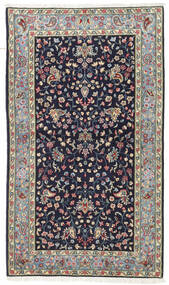 Kerman Matto 90X155 Itämainen Käsinsolmittu Tummanvioletti (Villa, Persia/Iran)