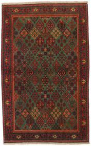Meimeh Covor 109X173 Orientale Lucrat Manual Roșu-Închis/Maro Închis (Lână, Persia/Iran)