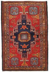 Ardabil Tapis 110X167 D'orient Fait Main Rouge Foncé/Rouille/Rouge (Laine, Perse/Iran)