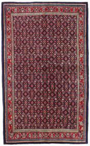 Mahal Rug 135X218 Authentic  Oriental Handknotted Dark Purple/Light Grey (Wool, Persia/Iran)