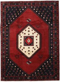 Klardasht Vloerkleed 215X293 Echt Oosters Handgeknoopt Zwart/Donkerrood (Wol, Perzië/Iran)