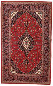 Keshan Matto 135X230 Itämainen Käsinsolmittu Tummanpunainen/Tummanruskea (Villa, Persia/Iran)