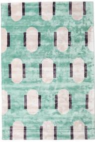 Catalpa - Verde Tapete 160X230 Moderno Verde Pastel/Bege ( Índia)