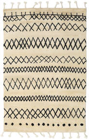 Beni Berber Rug 275X370 Authentic  Modern Handknotted Beige/Dark Grey Large (Wool, India)