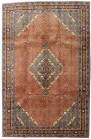 Ardebil Matta 198X303 Äkta Orientalisk Handknuten Mörkgrå/Röd (Ull, Persien/Iran)