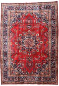 Mashad Teppe 202X287 Ekte Orientalsk Håndknyttet Rust/Mørk Rød (Ull, Persia/Iran)