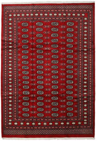 Pakistan Bokhara 2Ply Rug 210X303 Authentic  Oriental Handknotted Dark Red/Crimson Red (Wool, Pakistan)