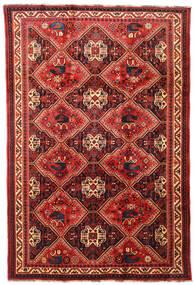 Ghashghai Vloerkleed 197X292 Echt Oosters Handgeknoopt Donkerrood/Roestkleur (Wol, Perzië/Iran)