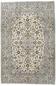 Keshan Rug 196X293 Authentic  Oriental Handknotted Dark Grey/Light Grey (Wool, Persia/Iran)