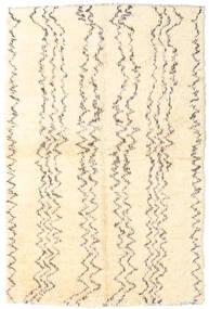 Moroccan Berber - Afganistan Matta 163X247 Äkta Modern Handknuten Beige/Mörkbeige (Ull, Afghanistan)