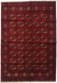 Afghan Khal Mohammadi Alfombra 204X290 Oriental Hecha A Mano Rojo Oscuro/Marrón Oscuro (Lana, Afganistán)