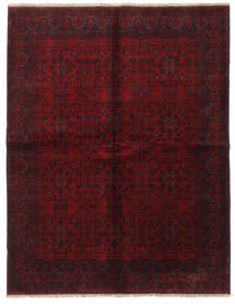 Afghan Khal Mohammadi Tappeto 175X225 Orientale Fatto A Mano Marrone Scuro/Rosso Scuro (Lana, Afghanistan)