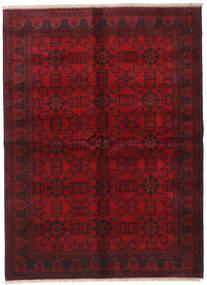 Afghan Khal Mohammadi Covor 176X240 Orientale Lucrat Manual Roșu-Închis/Maro Închis/Roşu (Lână, Afganistan)