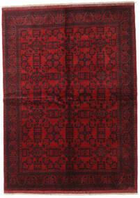 Afghan Khal Mohammadi Teppe 171X237 Ekte Orientalsk Håndknyttet Mørk Rød/Mørk Brun/Rød (Ull, Afghanistan)