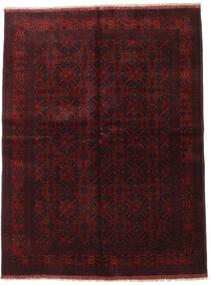 Afghan Khal Mohammadi Covor 174X233 Orientale Lucrat Manual Roșu-Închis (Lână, Afganistan)