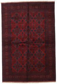 Afghan Khal Mohammadi Matta 169X252 Äkta Orientalisk Handknuten Mörkröd (Ull, Afghanistan)