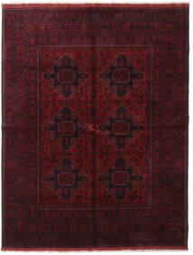 Afghan Khal Mohammadi Teppe 166X227 Ekte Orientalsk Håndknyttet Mørk Rød (Ull, Afghanistan)