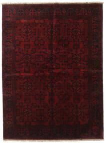 Afghan Khal Mohammadi Covor 171X228 Orientale Lucrat Manual Roșu-Închis (Lână, Afganistan)