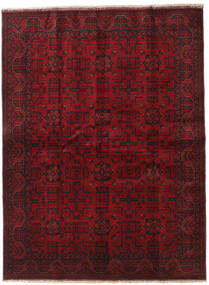 アフガン Khal Mohammadi 絨毯 173X229 オリエンタル 手織り 深紅色の/濃い茶色 (ウール, アフガニスタン)