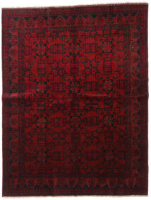 Afghan Khal Mohammadi Teppich 179X232 Echter Orientalischer Handgeknüpfter Dunkelrot (Wolle, Afghanistan)