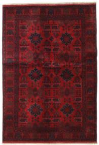 Afghan Khal Mohammadi Vloerkleed 132X189 Echt Oosters Handgeknoopt Donkerrood/Donkerbruin (Wol, Afghanistan)