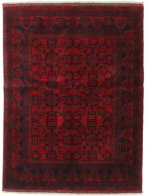 Afghan Khal Mohammadi Rug 149X196 Authentic  Oriental Handknotted Dark Red (Wool, Afghanistan)