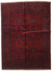 アフガン Khal Mohammadi 絨毯 148X196 オリエンタル 手織り 深紅色の (ウール, アフガニスタン)