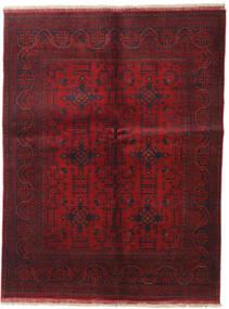 アフガン Khal Mohammadi 絨毯 147X193 オリエンタル 手織り 深紅色の (ウール, アフガニスタン)