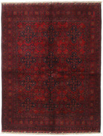 Afghan Khal Mohammadi Rug 156X200 Authentic  Oriental Handknotted Dark Red/Dark Brown (Wool, Afghanistan)