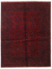 アフガン Khal Mohammadi 絨毯 151X195 オリエンタル 手織り 深紅色の/濃い茶色 (ウール, アフガニスタン)