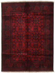 アフガン Khal Mohammadi 絨毯 147X195 オリエンタル 手織り 深紅色の (ウール, アフガニスタン)