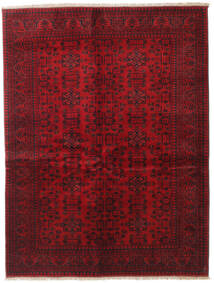 Afghan Khal Mohammadi Rug 150X196 Authentic  Oriental Handknotted Dark Red/Crimson Red (Wool, Afghanistan)