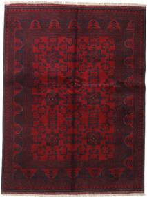 Afghan Khal Mohammadi Teppe 152X197 Ekte Orientalsk Håndknyttet Mørk Rød (Ull, Afghanistan)