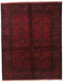 アフガン Khal Mohammadi 絨毯 152X190 オリエンタル 手織り 深紅色の/濃い茶色 (ウール, アフガニスタン)