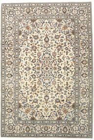 Keshan Tappeto 205X300 Orientale Fatto A Mano Beige/Grigio Chiaro (Lana, Persia/Iran)