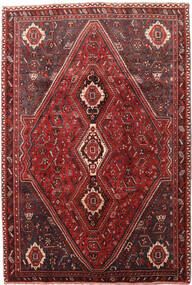 Qashqai Rug 189X278 Authentic  Oriental Handknotted Dark Red/Dark Brown (Wool, Persia/Iran)
