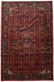 Hosseinabad Alfombra 218X330 Oriental Hecha A Mano Rojo Oscuro/Marrón Oscuro (Lana, Persia/Irán)