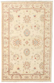 Ziegler Rug 90X142 Authentic  Oriental Handknotted Beige (Wool, Afghanistan)