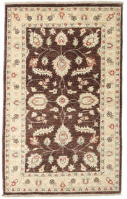 Ziegler Rug 89X145 Authentic  Oriental Handknotted Dark Red/Beige/Dark Beige (Wool, Afghanistan)