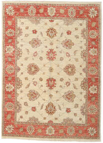 Ziegler Rug 153X211 Authentic  Oriental Handknotted Beige/Light Brown (Wool, Afghanistan)
